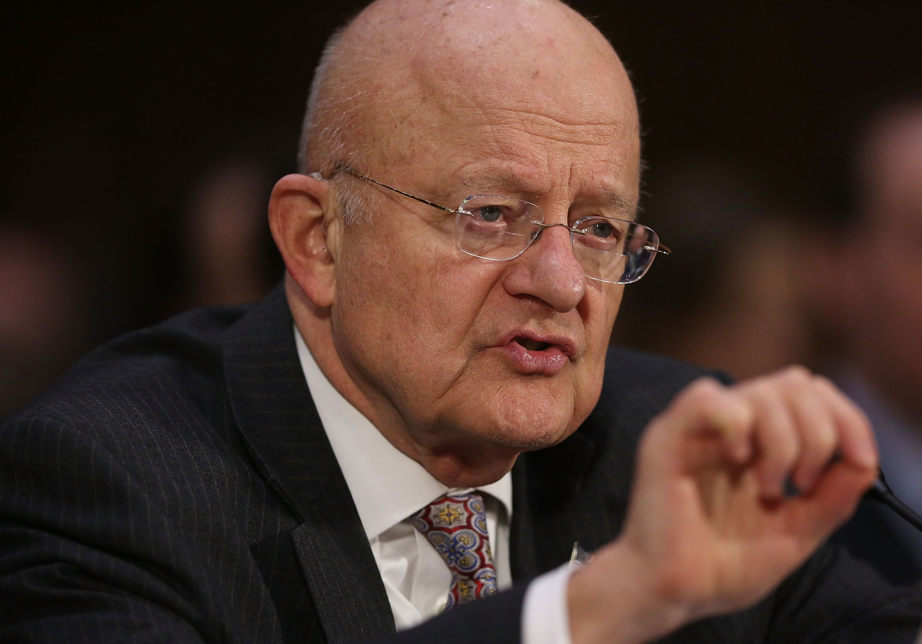 James Clapper, the former director of national intelligence, disputed President Donald Trump's claim that then-President Bara