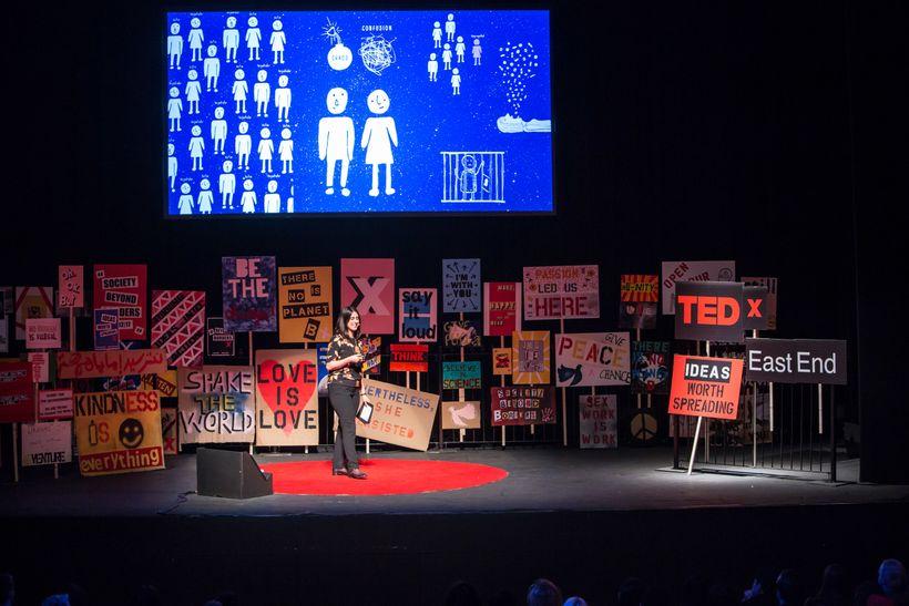 Annahita Nezamionstage at TEDxEastEnd 2017