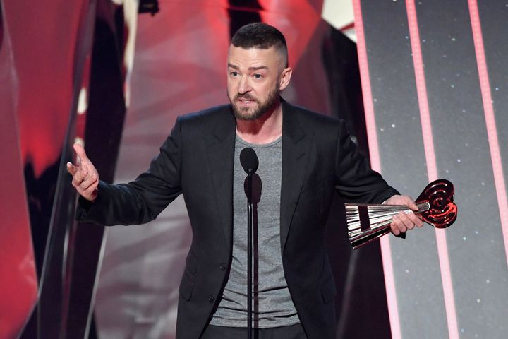 Justin Timberlake Gives Moving Speech To LGBTQ Youth At iHeartRadio
