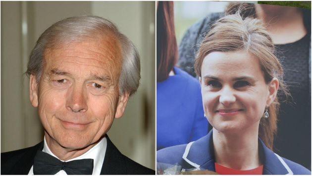 John Humphrys (left) is facing a backlash after dismissing the death of Jo Cox as 'murder' and not an...