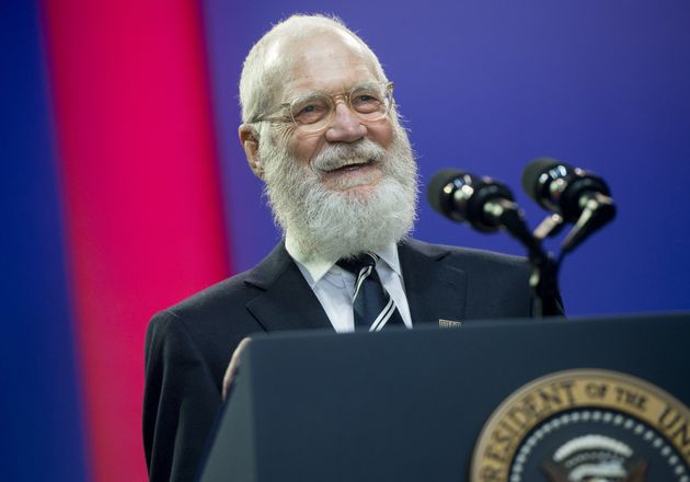 David Letterman (pictured in May 2016) called on Democrats to get a backbone and fight back against the...