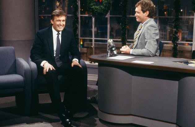 Letterman interviewing Trump in