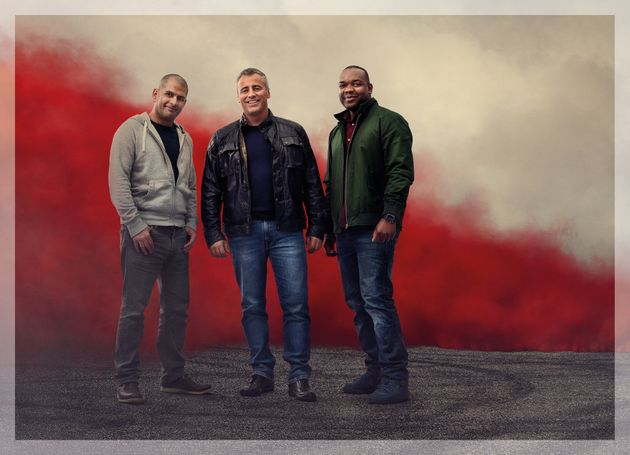 Matt LeBlanc teamed up with Chris Harris and Rory Reid for the new series of 'Top