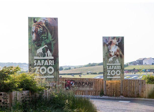 South Lakes Safari Zoo, in Dalton-in-Furness,