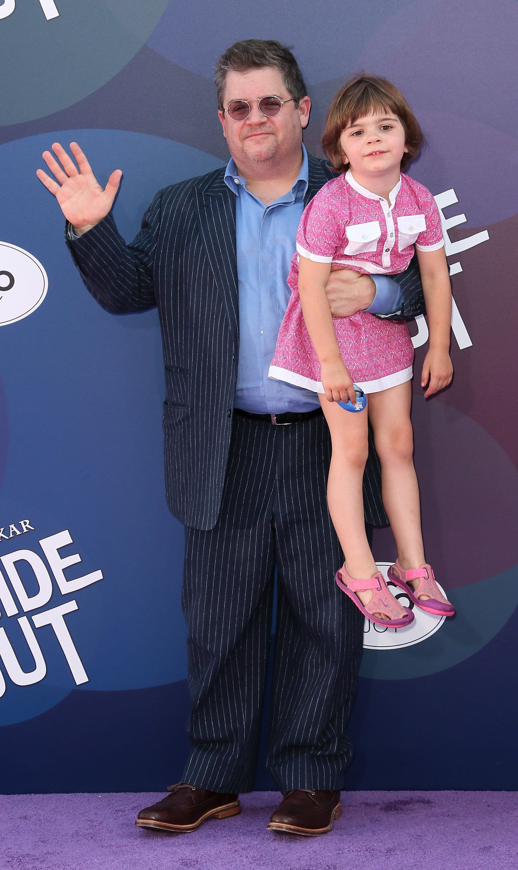 """Oswalt andAlice attended the premiere of """"Inside Out' together in June 2015."""