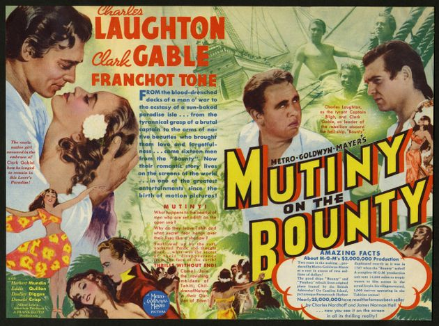 Posters for the 1935 film starring Charles Laughton and Clark