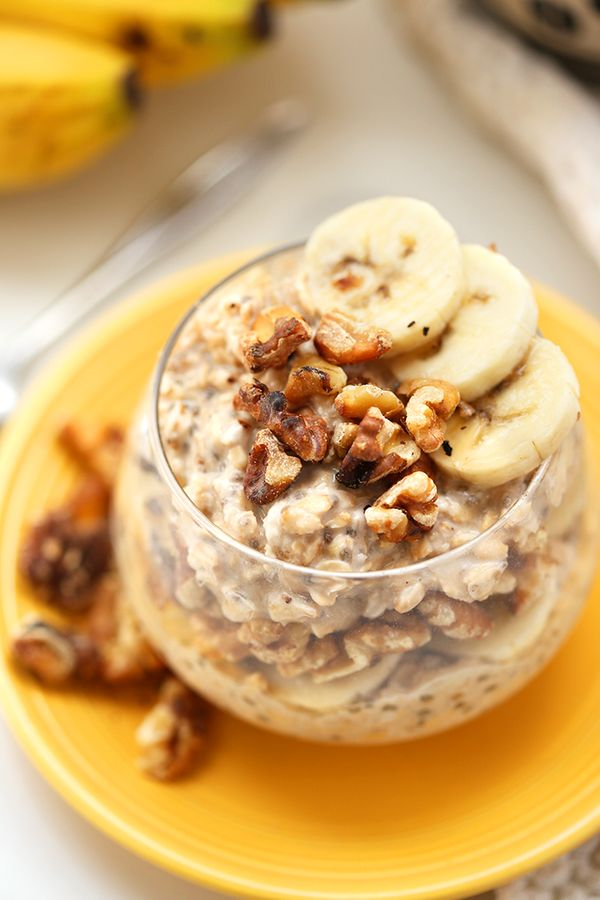 """<strong>Get the <a href=""""http://www.thehealthymaven.com/2016/02/banana-nut-overnight-oats.html"""" target=""""_blank"""">Banana Nut Ov"""