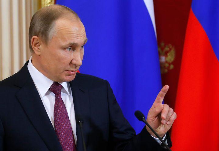 Sergei Ilnitsky  Pool  Reuters Russian President Vladimir Putinis probably not America's best friend