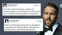 Ryan Reynolds Might Be One Of The Funniest Dads On