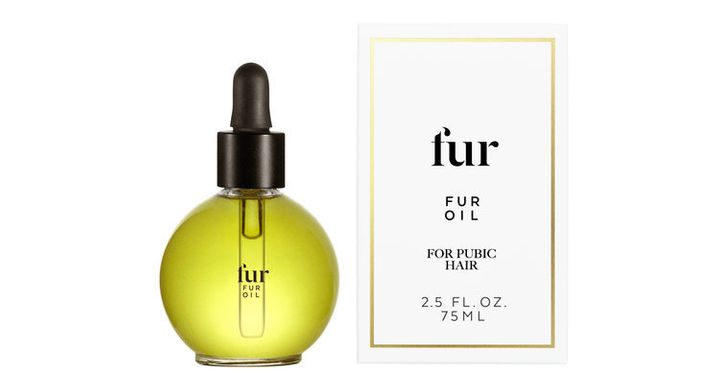 "Fur Oil ""<a href=""http://www.furyou.com/shop-fur/fur-oil"" target=""_blank"">softens pubic hair</a> and clears po"