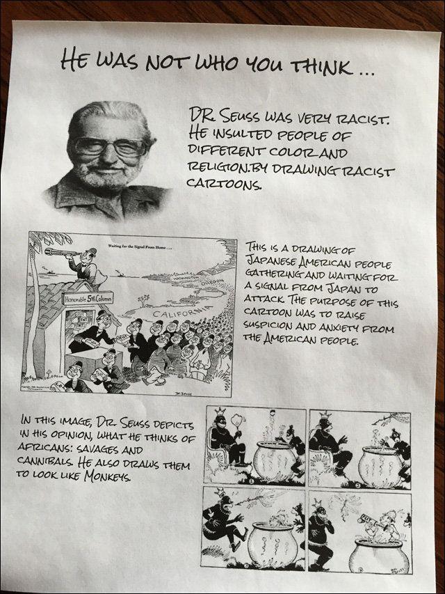 Kids Use 'Dr. Seuss Week' To Teach Classmates About His Racist Cartoons 58bda37a1a00003700f41e10