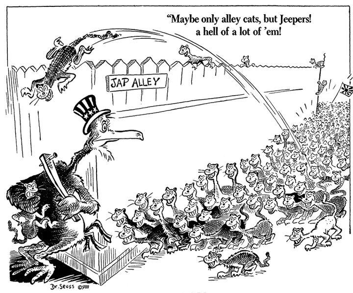 Kids Use 'Dr. Seuss Week' To Teach Classmates About His Racist Cartoons 58bda3be1900003300bd706a