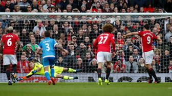 "Britain Soccer Football - Manchester United v AFC Bournemouth - Premier League - Old Trafford - 4/3/17 Bournemouth's Artur Boruc saves a penalty from Manchester United's Zlatan Ibrahimovic  Reuters / Andrew Yates Livepic EDITORIAL USE ONLY. No use with unauthorized audio, video, data, fixture lists, club/league logos or ""live"" services. Online in-match use limited to 45 images, no video emulation. No use in betting, games or single club/league/player publications. Please contact your account representative for further details."
