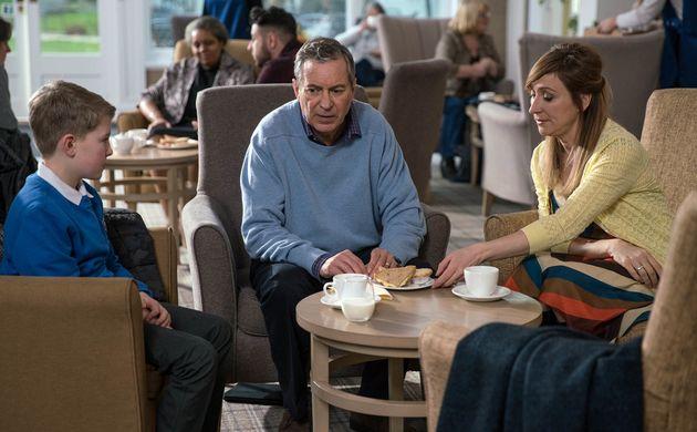 Laurel and Arthur visit