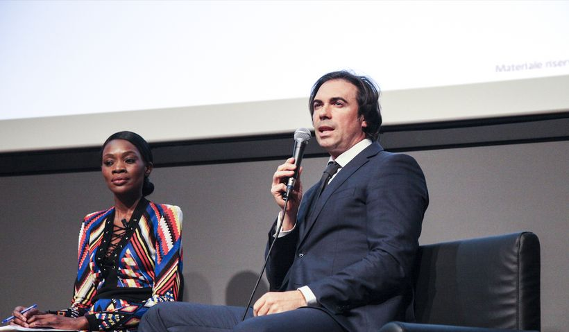 Discussing influencers and brand safety: Sissi Johnson, Summit Host & Andrea Barchiesi, CEO and Founder, Reputation Manager