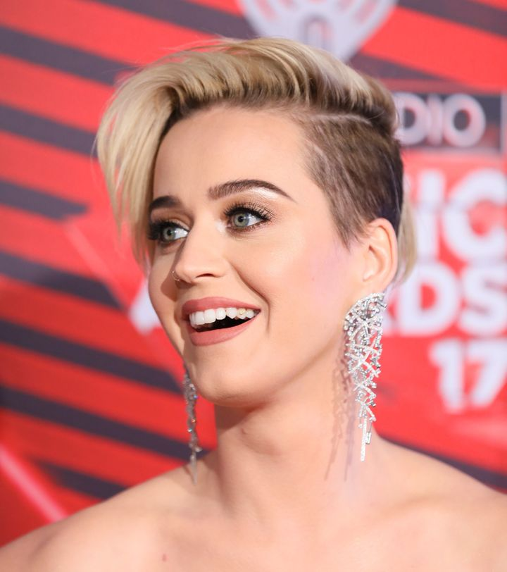 Katy Perry attends the 2017 iHeartRadio Music Awards at The Forum on March 5, 2017 in Inglewood, California