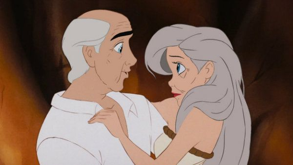 Here's What Disney Couples Would Look Like Older And Still In
