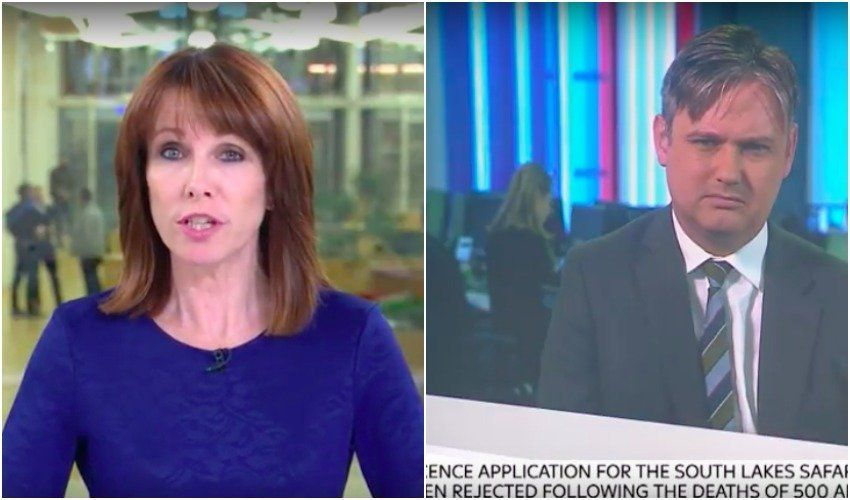 Cumbria Zoo Deaths Spark Bizarre Row Between Kay Burley And MP John