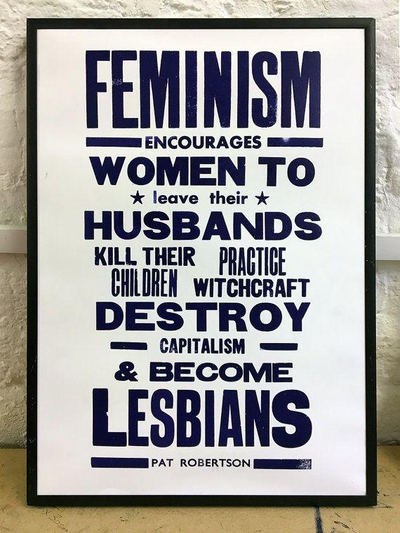 "Buy it <a href=""https://www.etsy.com/listing/216521722/letterpress-poster-feminism?ga_order=most_relevant&ga_search_type="