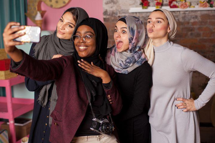 The photos were taken in Brooklyn by a Muslim photographer, Jenna Masoud.