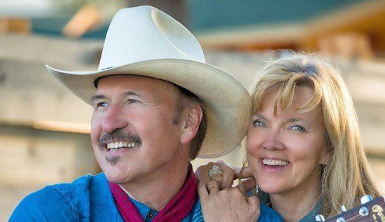 Musician and Democratic congressional nominee Rob Quist with his wife, Bonni Quist.