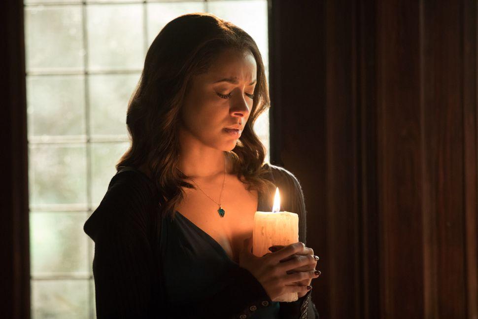 "Kat Graham as Bonnieon ""The Vampire Diaries."""