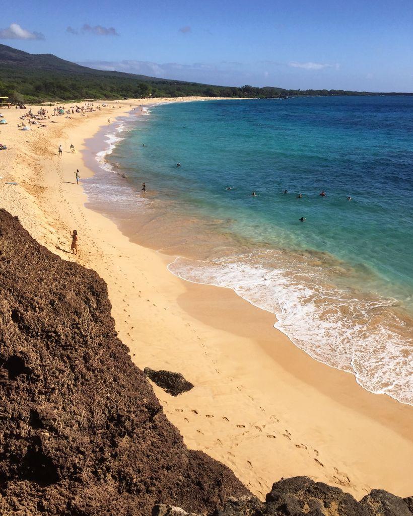Big Beach on the island of Maui.