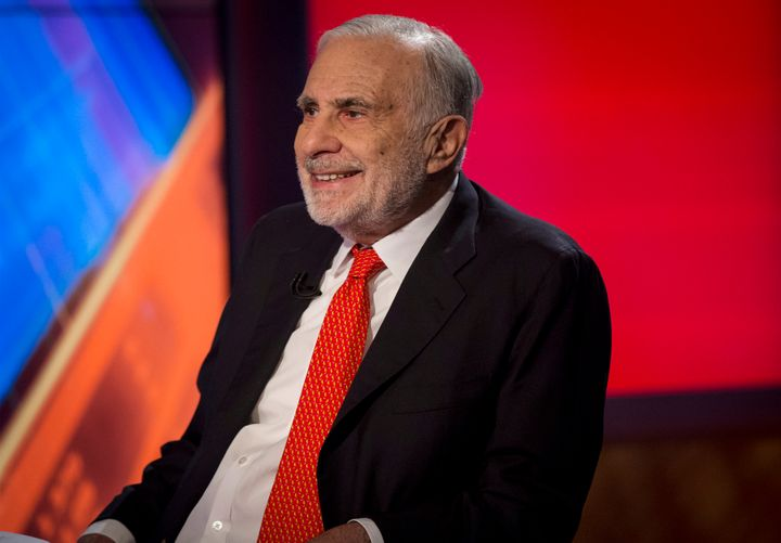 Billionaire Carl Icahn  an 82 percent stake in the oil refiner CVR through his holding company, Icahn Enterprises. He to