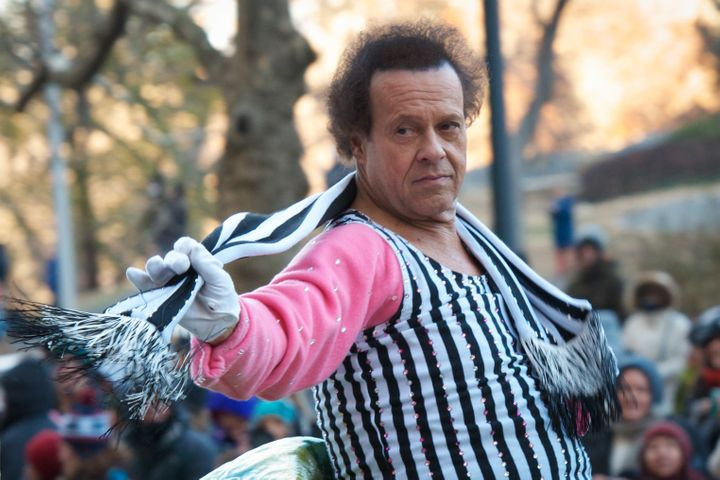 Richard Simmons at the Macy's Thanksgiving Parade in 2013. He's been out of the public eye for three years.