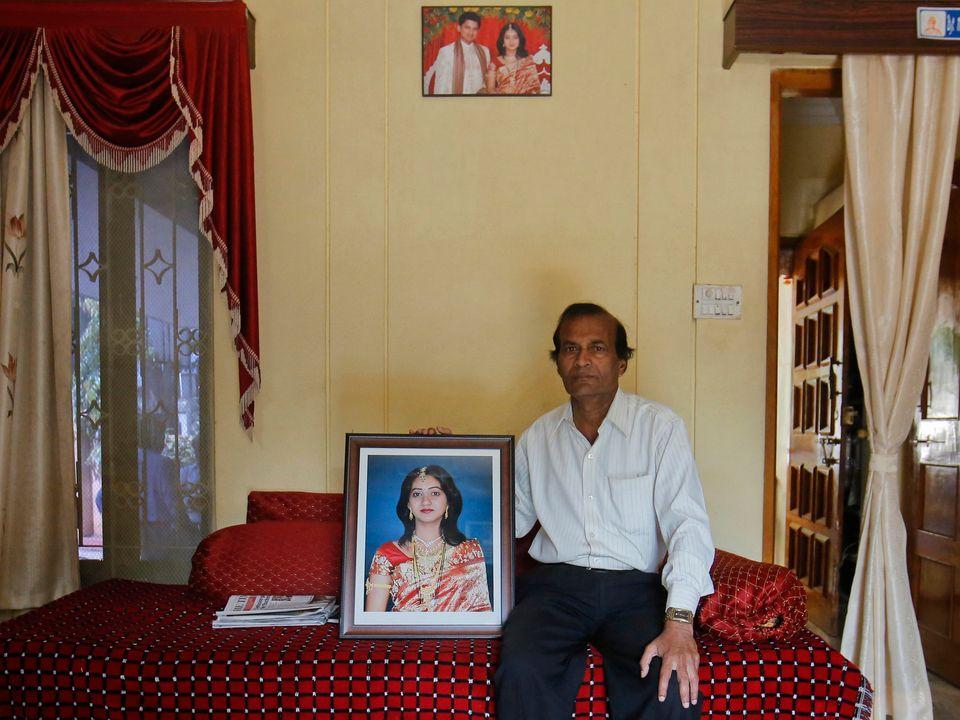 Andanappa Yalagi's daughter Savita Halappanavar died ofan infection after an Irish hospital denied...