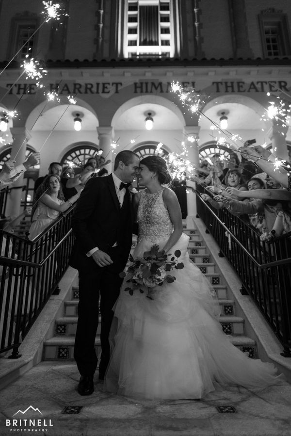 """Matt and Micayla got married in a wonderful ceremony at the Harriet Himmel Theater in West Palm Beach, Florida."" -- <i>David"