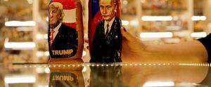 RUSSIA 2017 MOSCOW SOUVENIR SHOP MATRYOSHKA DOLLS