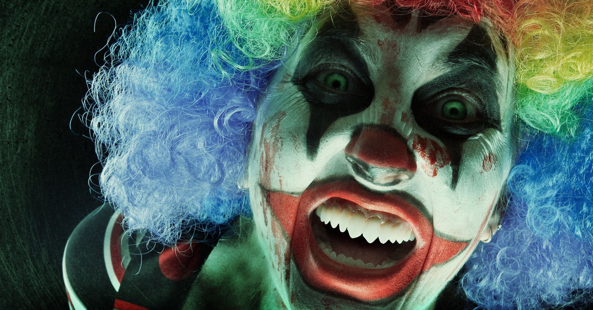police probe reports of armed creepy clowns scaring children huffpost