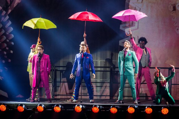 Take That on their most recent arena