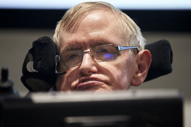 Professor Stephen Hawking, seen above at the launch of The Leverhulme Centre for the Future of Intelligence...