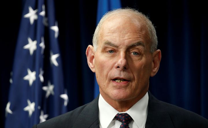Homeland Security Chief Admits He's Considering Splitting Children From Parents At Border