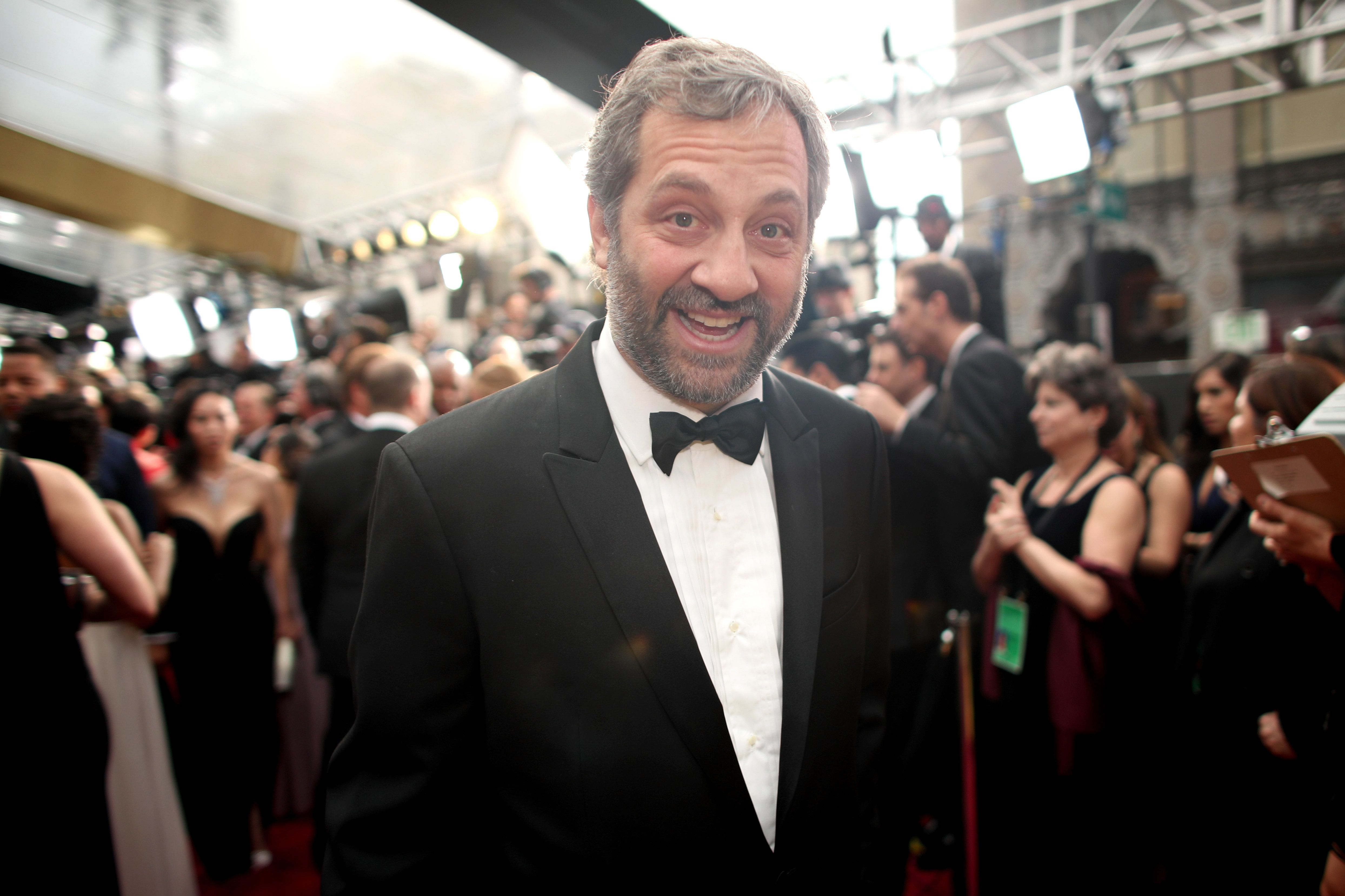 HOLLYWOOD, CA - FEBRUARY 26:   Writer/director Judd Apatow attends the 89th Annual Academy Awards at Hollywood & Highland Center on February 26, 2017 in Hollywood, California.  (Photo by Christopher Polk/Getty Images)