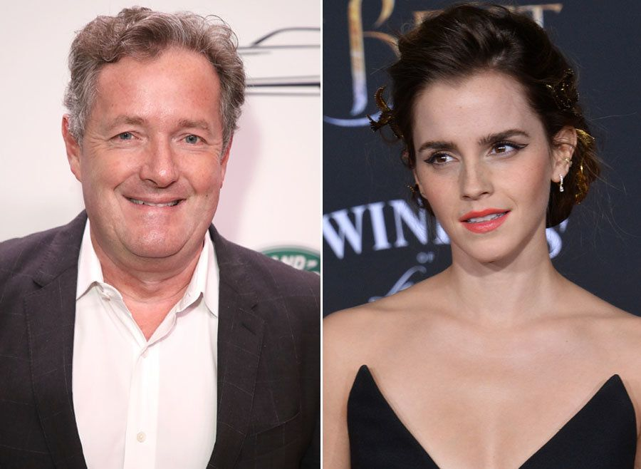 Surprise Surprise, Piers Morgan Has Something To Say About Emma Watson's Vanity Fair