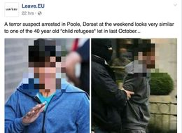 Leave.EU Are Still Falsely Claiming A 'Child Refugee' Is A Terror Suspect