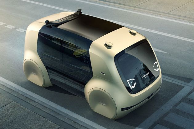 VW's Self-Driving Car Concept Looks Absolutely