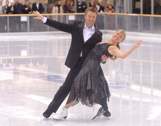 Torvill and Dean fronted the