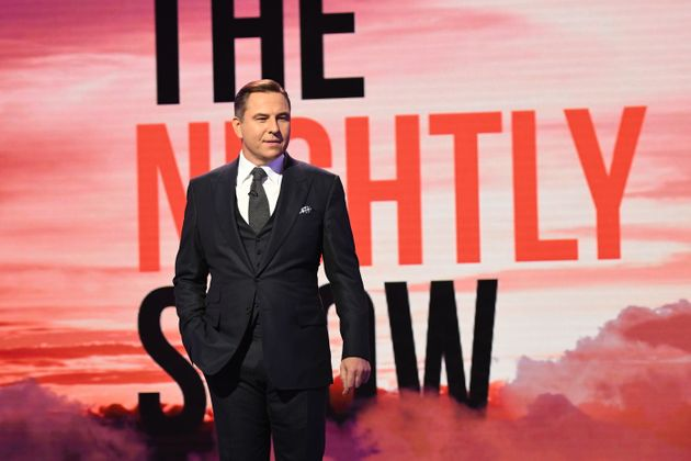 David Walliams was the first host of 'The Nightly