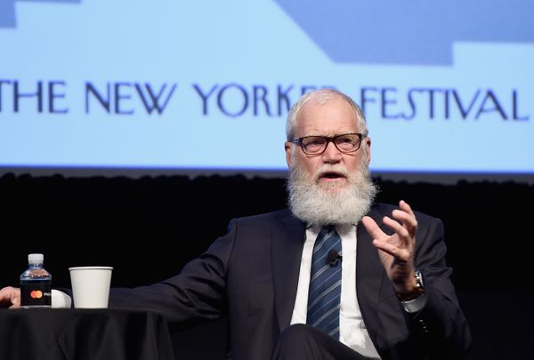 Looking like a Brooklyn hipster at the The New Yorker Festival 2016 in New York City in October 2016.