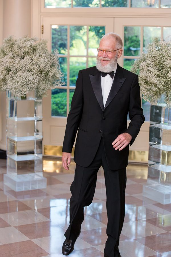 The beard servedas Dave's best accessory atthe White House for the Nordic State Dinner in May 2016.