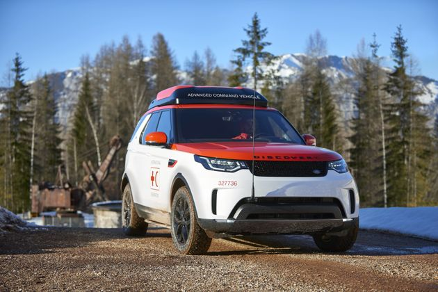 Land Rover Built An Incredible Drone-Launching Car For The Red