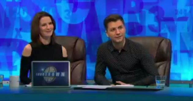 Susie Dent and Pasha Kovalev were in Dictionary