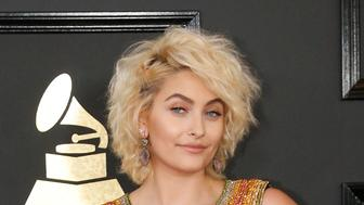 Paris Jackson arrives at the 59th Annual Grammy Awards in Los Angeles, California, U.S. , February 12, 2017. REUTERS/Mario Anzuoni