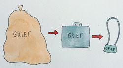 Artist Navigates Grief With Simple Yet Relatable Drawings About Life After