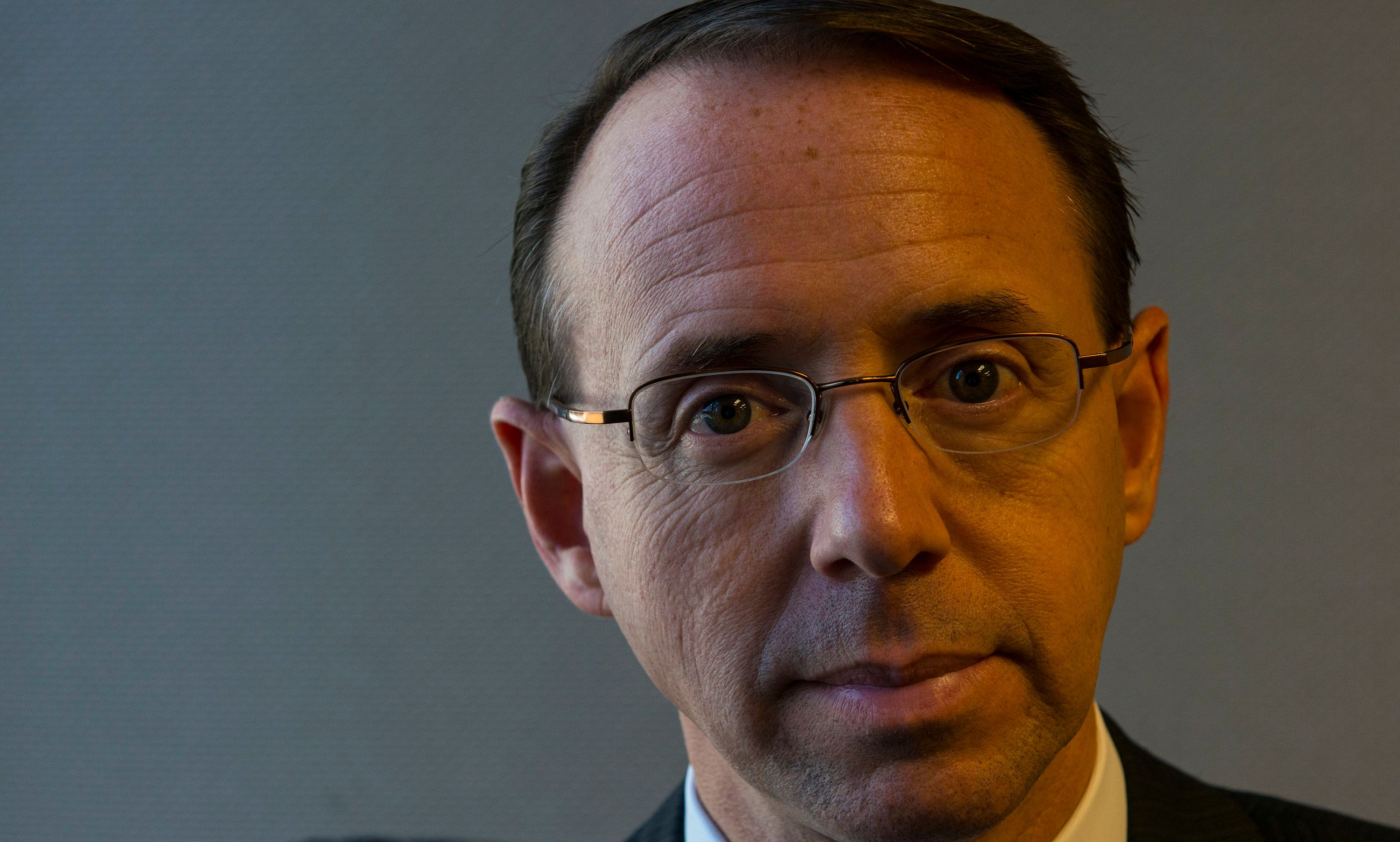 Rod Rosenstein is the nominee for deputy attorney general.