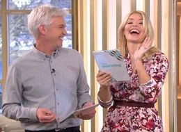 Holly Willoughby Cracks Up After NSFW Slip Of The Tongue On 'This Morning'